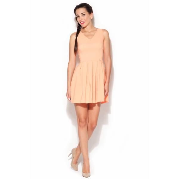 KATRUS дамска къса рокля без ръкави