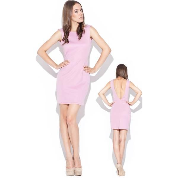 KATRUS дамска къса рокля с гол гръб