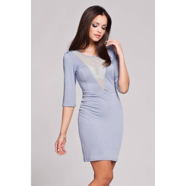 FIGL дамска къса вталена рокля