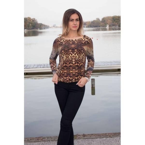 FRANCO FERUCCI дамска блуза с животински мотиви