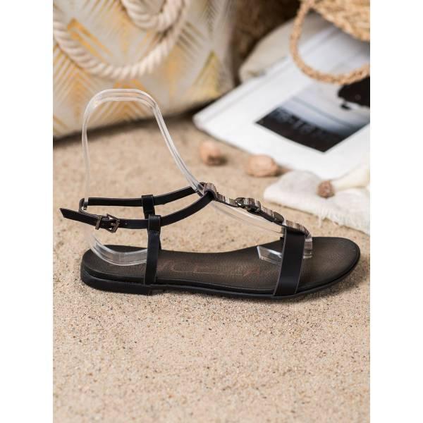 VINCEZA дамски ниски ежедневни сандали