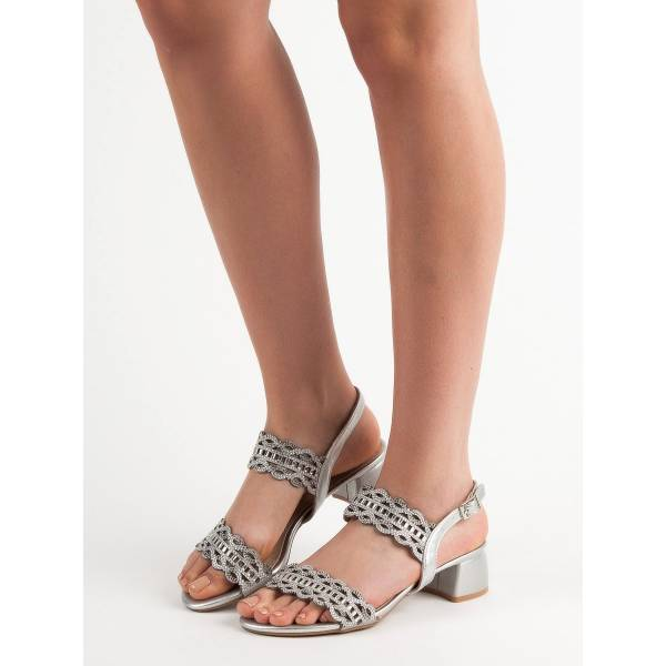 KYLIE дамски сандали с нисък ток