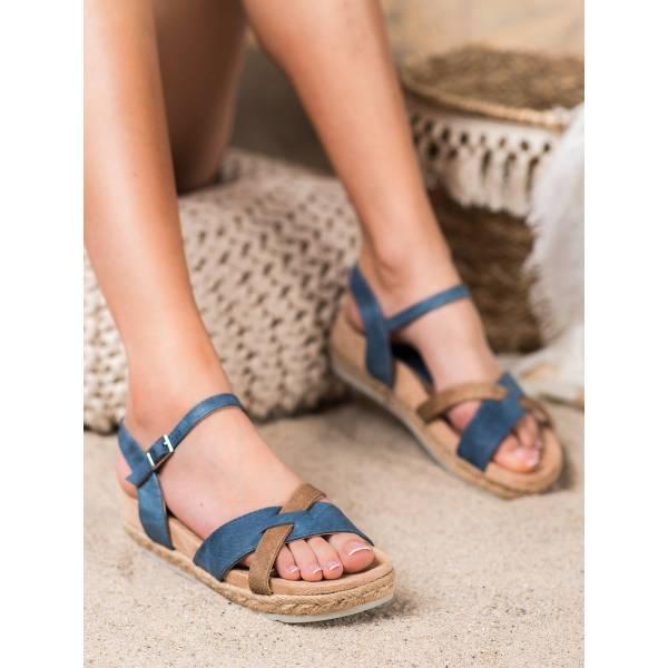 KYLIE дамски ниски сандали с каишки