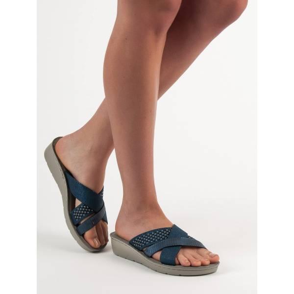 EVENTO дамски чехли с удобно ходило и модерен дизайн