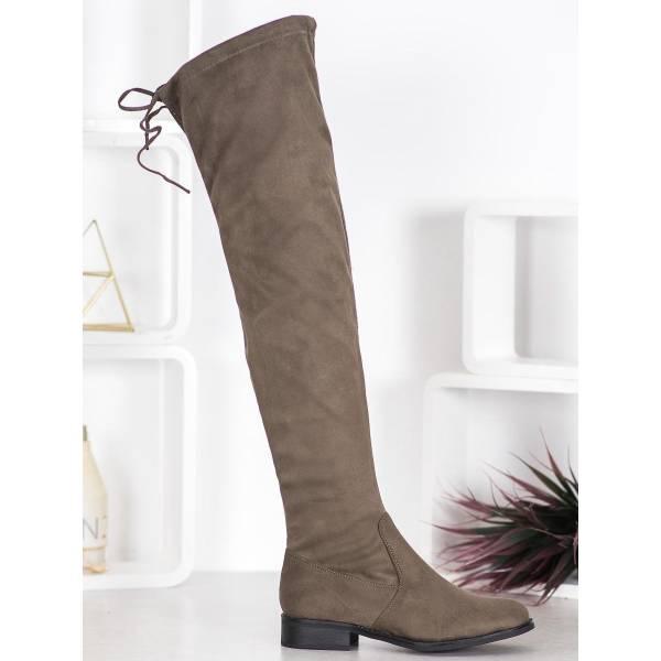 SEASTAR дамски велурени чизми