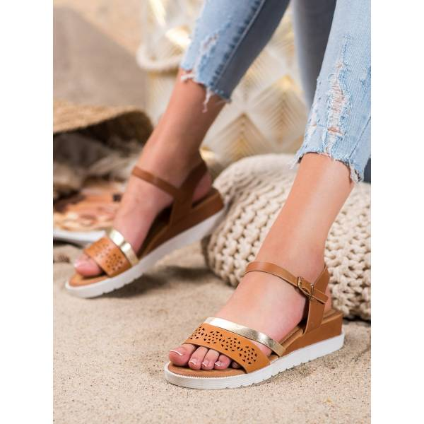 RENDA дамски сандали с ниска платформа