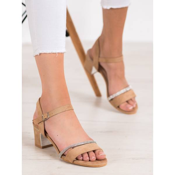 ANESIA PARIS дамски сандали с нисък ток