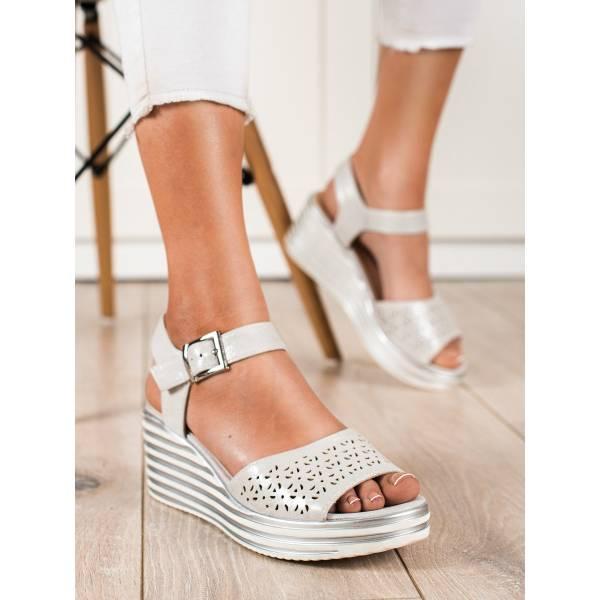 SERGIO LEONE дамски сандали на платформа