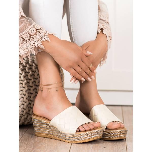BONA дамски чехли с платформа
