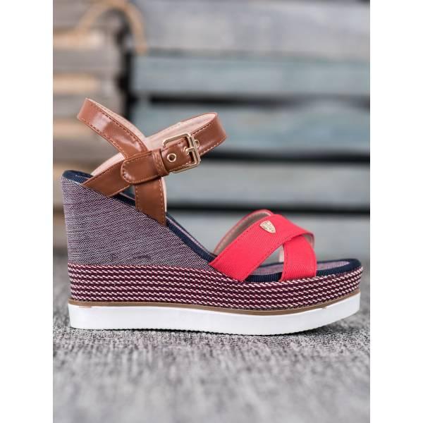 SHELOVET дамски сандали на висока платформа
