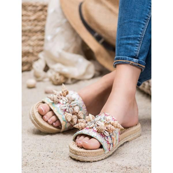 SEASTAR дамски чехли с морска декорация
