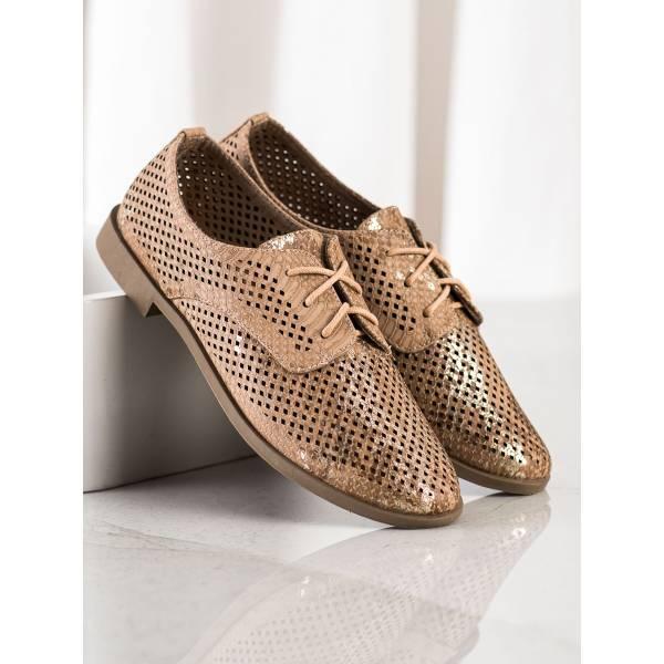 SHELOVET дамски ниски обувки с връзки