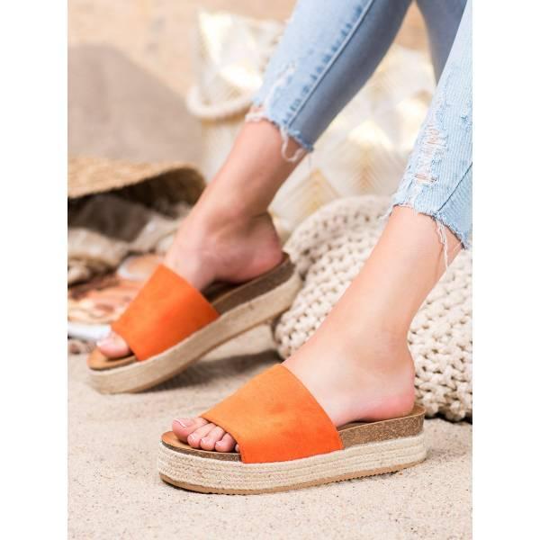 RENDA дамски чехли на платформа