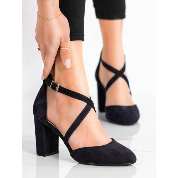 SERGIO LEONE дамски обувки с дебел ток
