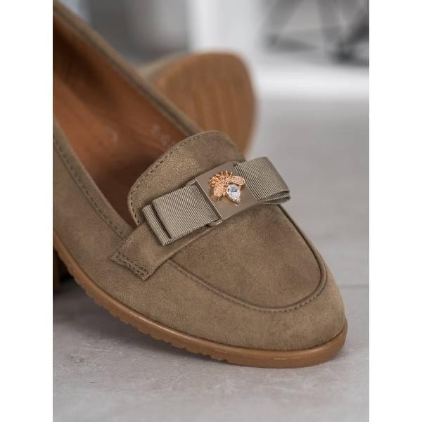 MISS LAURA дамски ниски обувки с панделка