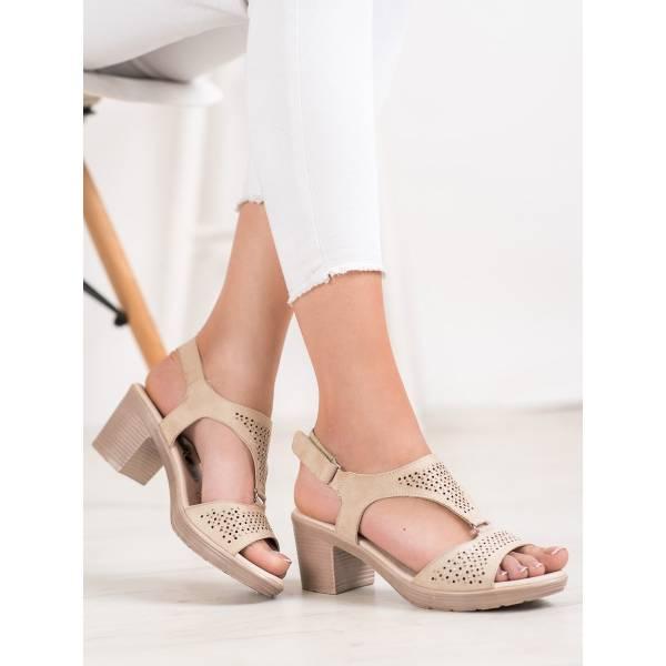 SHELOVET дамски сандали с нисък ток