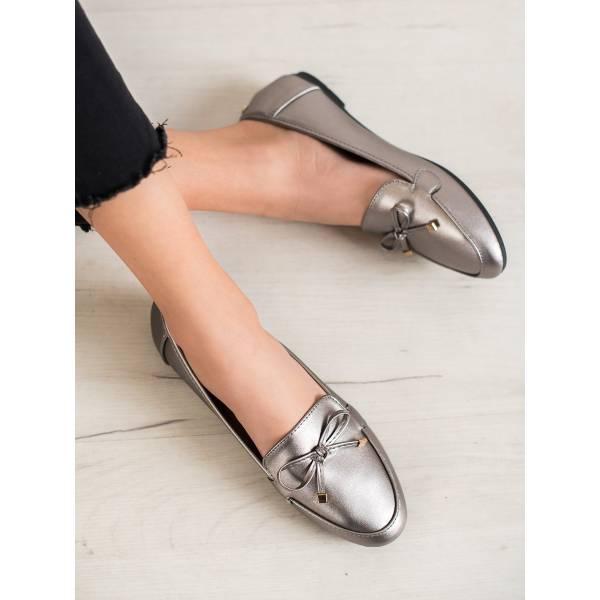 CLOWSE дамски ниски обувки с панделка
