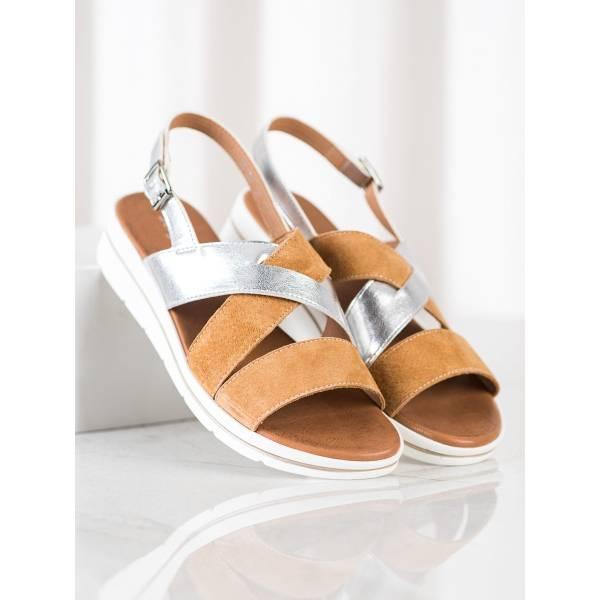 SERGIO LEONE дамски сандали с платформа