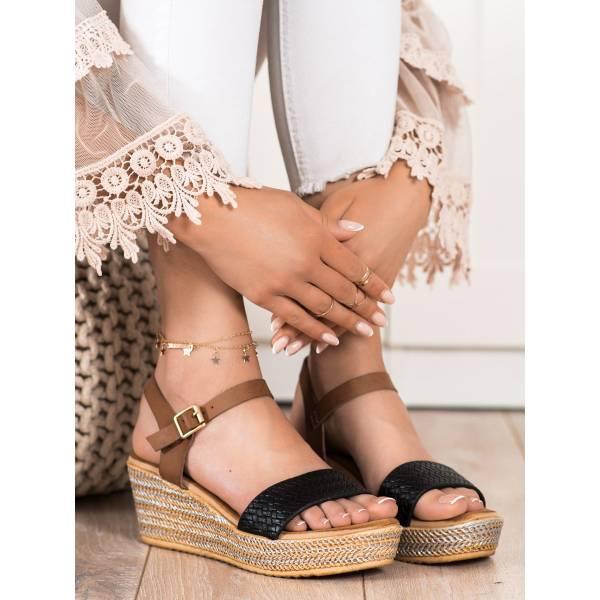 BONA дамски сандали на платформа