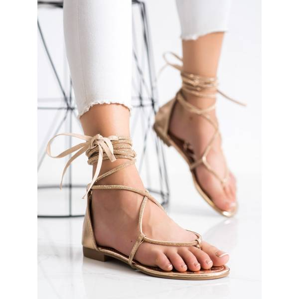 SEASTAR дамски равни сандали с връзки