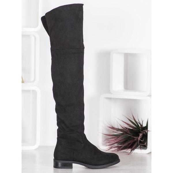 SHELOVET дамски велурени чизми