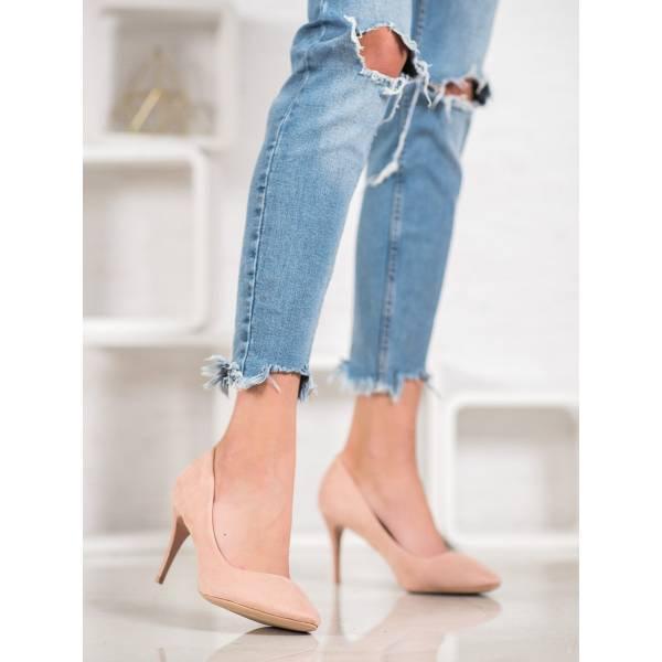 COMER дамски елегантни обувки на висок ток