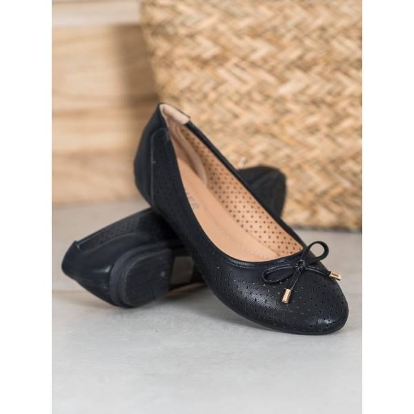 SHELOVET дамски пантофки с панделка