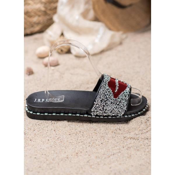 SHELOVET дамски чехли с апликация
