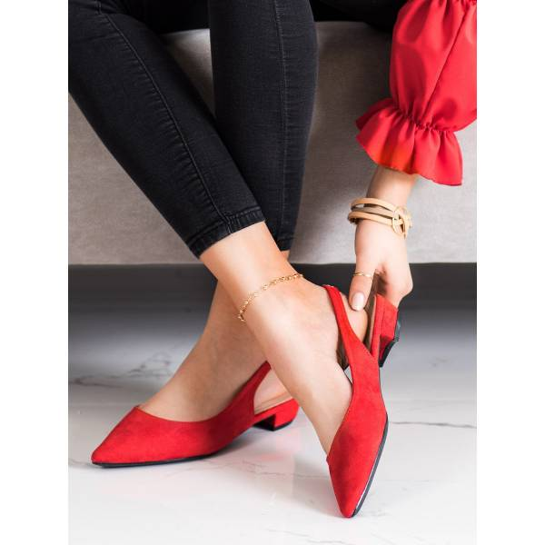 LOVERY дамски елегантни обувки на нисък ток