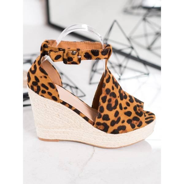 QUEEN VIVI дамски сандали на висока платформа