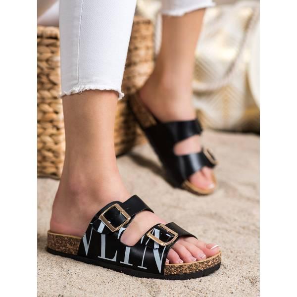 SHELOVET дамски чехли от еко кожа