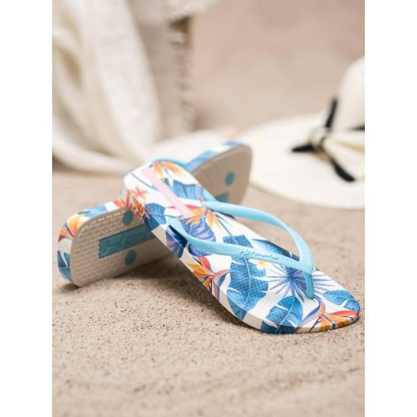 SHELOVET дамски джапанки с цветна подметка