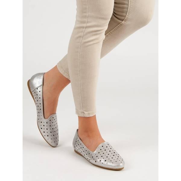 KYLIE дамски ниски обувки с перфорирана кожа