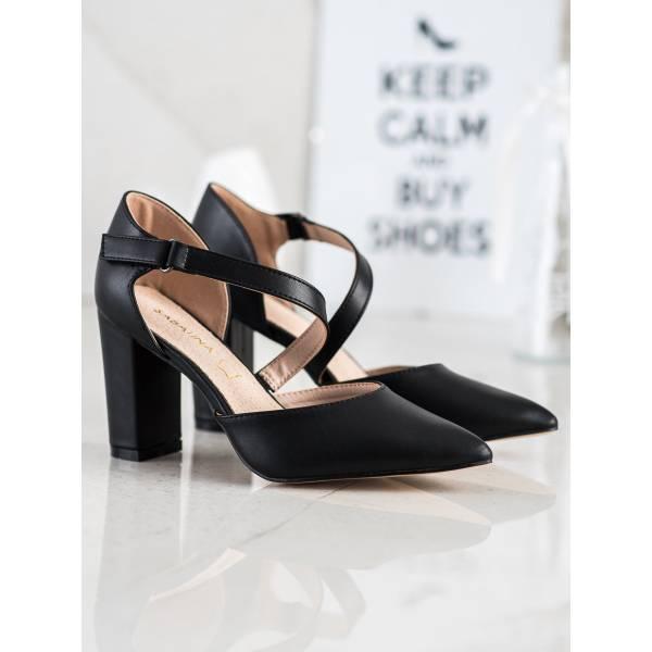 SABATINA дамски обувки с дебел ток