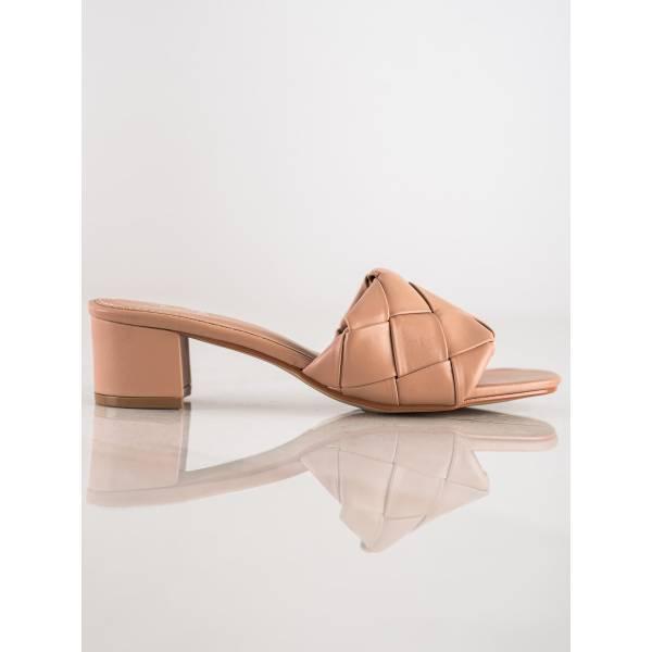 SMALL SWAN дамски чехли с ток
