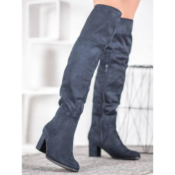 CLOWSE дамски велурени чизми
