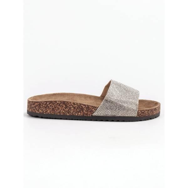 BONA дамски чехли с ефектен дизайн