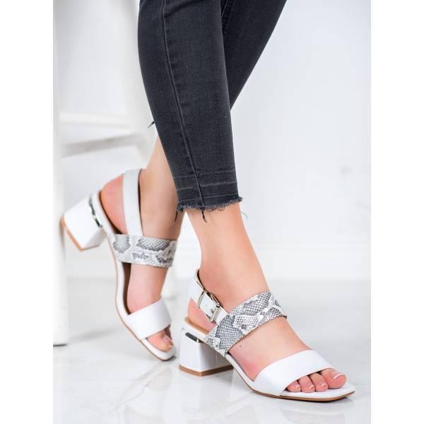 KYLIE дамски сандали на среден ток