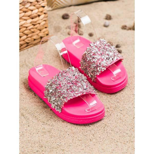 SEASTAR дамски чехли с камъни