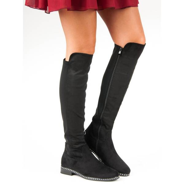 FILIPPO дамски високи ботуши - чизми