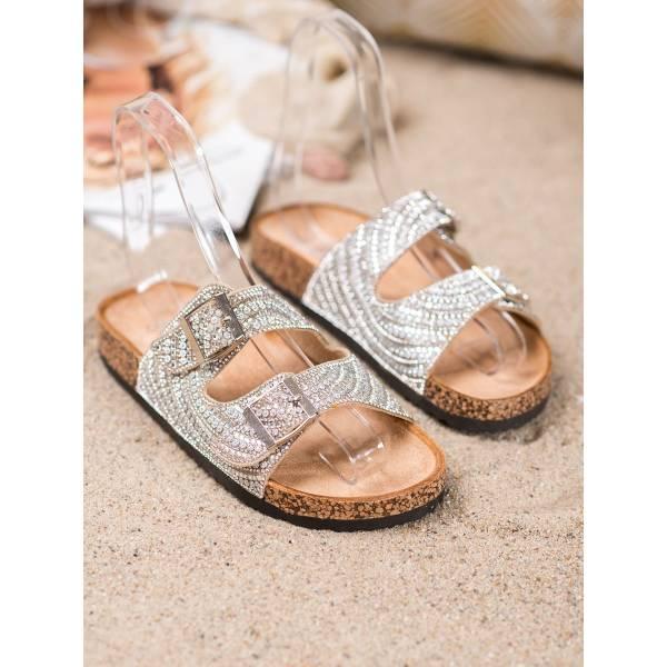 BONA дамски чехли с камъни