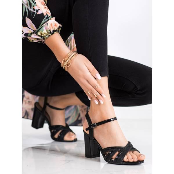 SHELOVET дамски сандали с ток