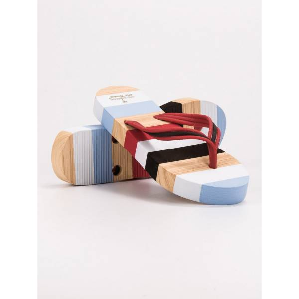 AX BOXING дамски джапанки с цветна подметка