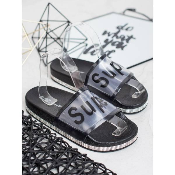BONA дамски чехли с прозрачна каишка