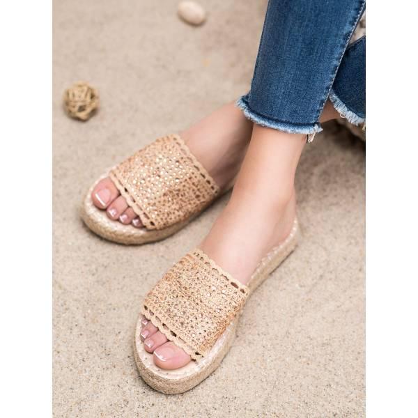 SMALL SWAN дамски модерни чехли