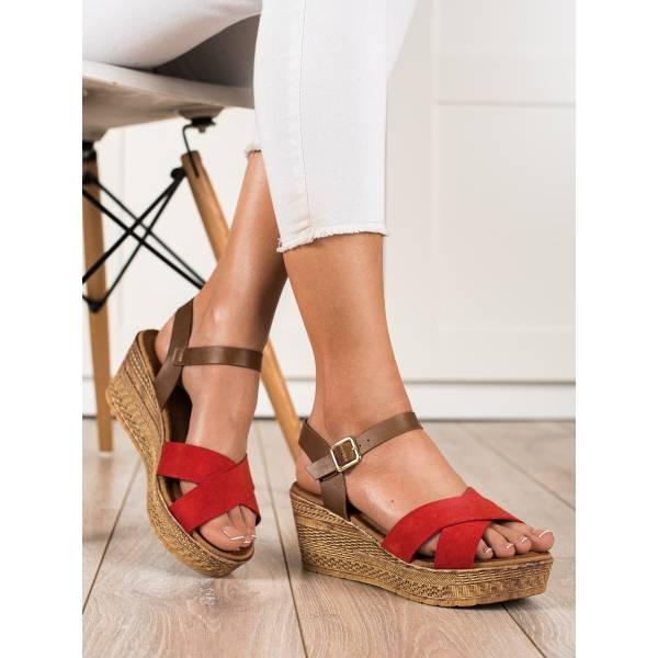 S. BARSKI дамски сандали на платформа