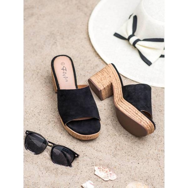 FLYFOR дамски чехли с ток