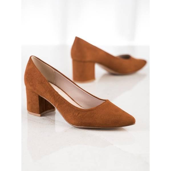 SABATINA дамски велурени обувки с ток