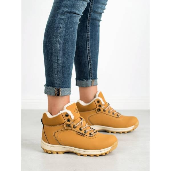 AX BOXING дамски туристически обувки с топла подплата
