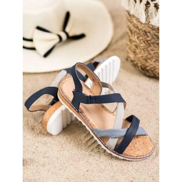 KYLIE дамски сандали с ниска платформа